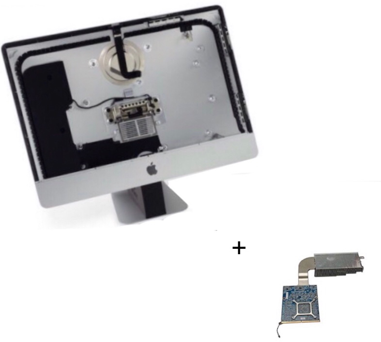 imac graphic card replacement..