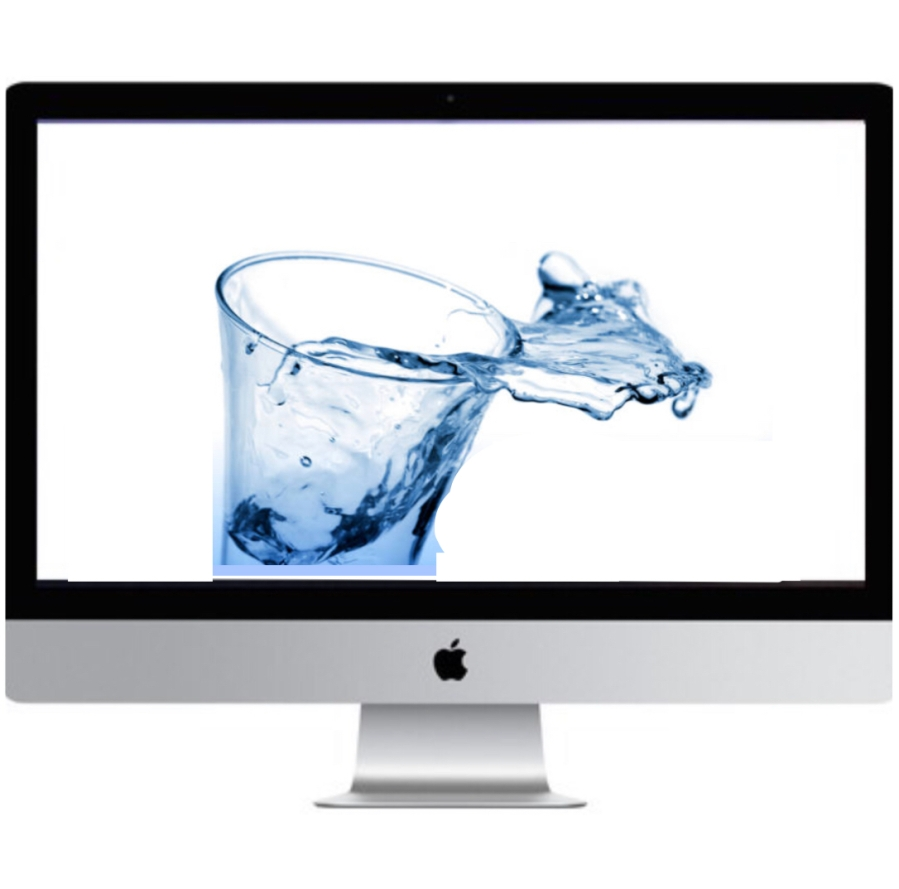 water damaged imac repair macrogeeks dallas
